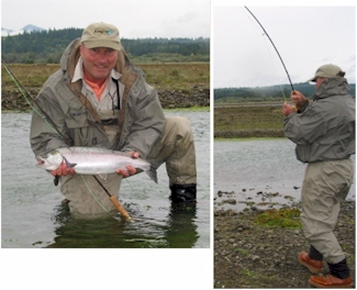 Fly Fishing for Coho Salmon – Mining for Silver